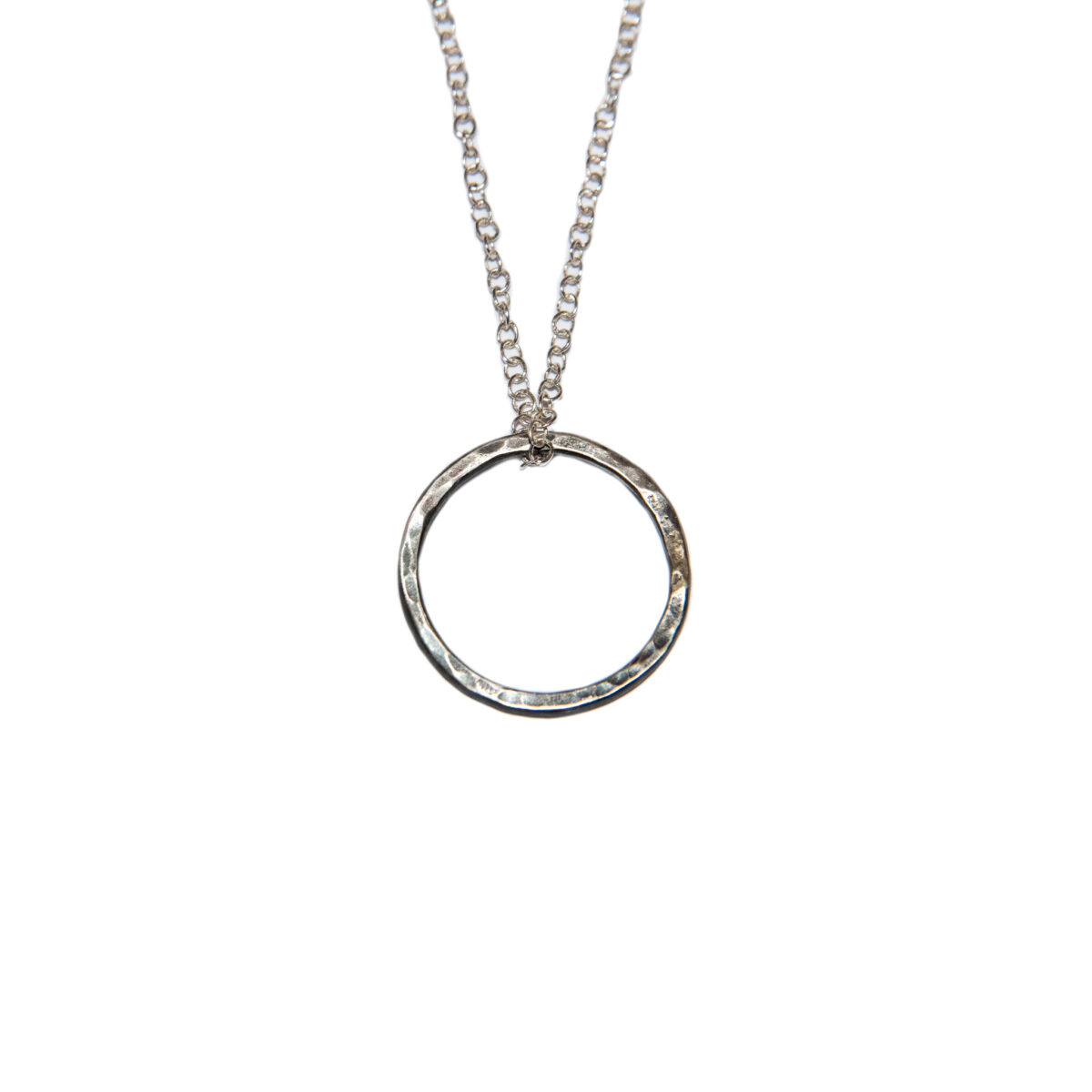 Ring necklace II Silver