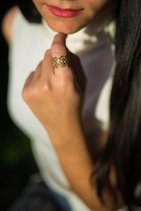 """Lady "" ring"