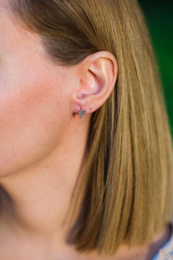 Αγάπη earrings II silver