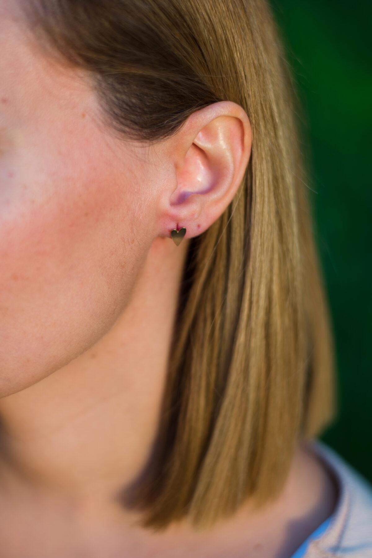 Αγάπη earrings II gold plated