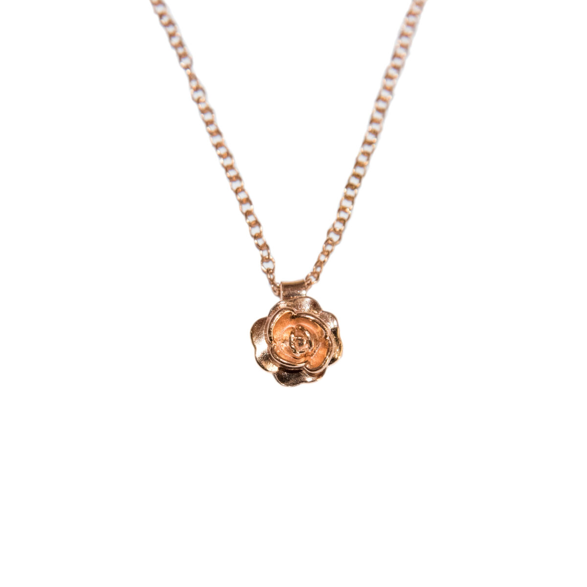 Rose on your neck II rose gold