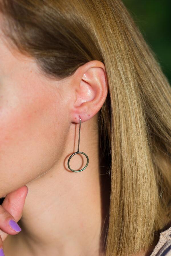 """""""Sun"""" II earrings"""
