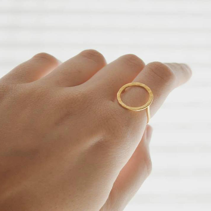 The Ring II gold plated