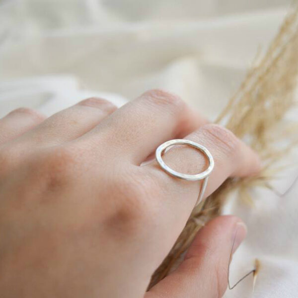 The Ring II silver