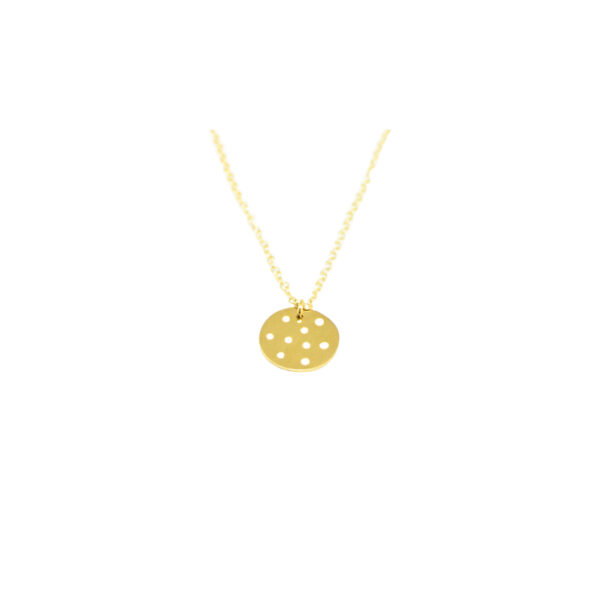 Polka dot necklace