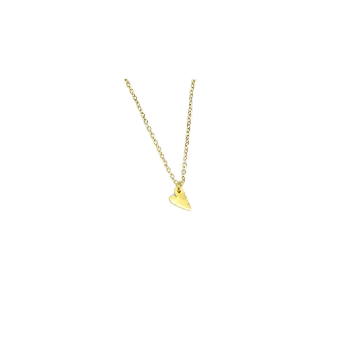 Αγάπη II gold plated necklace