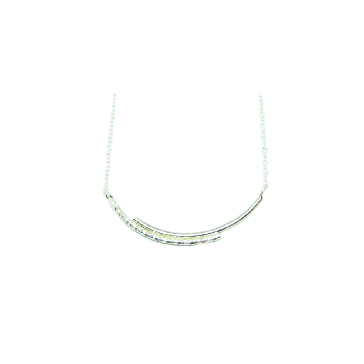 Dance with me II silver necklace
