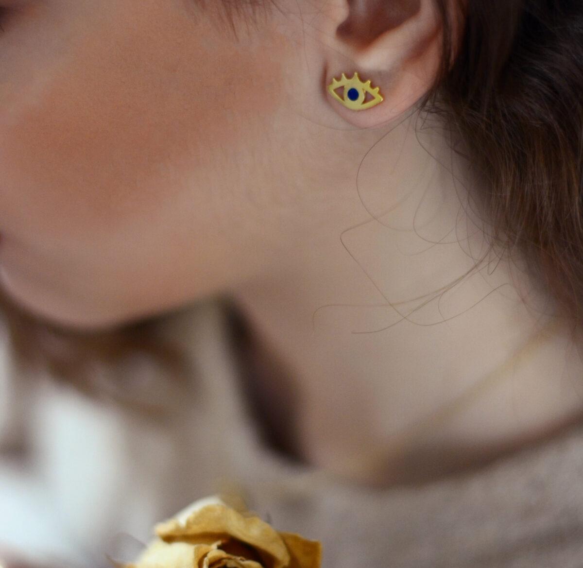 """""""All Eyes on You"""" earrings II silver"""