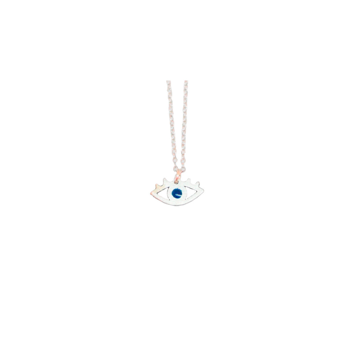 All Eyes on You II silver necklace