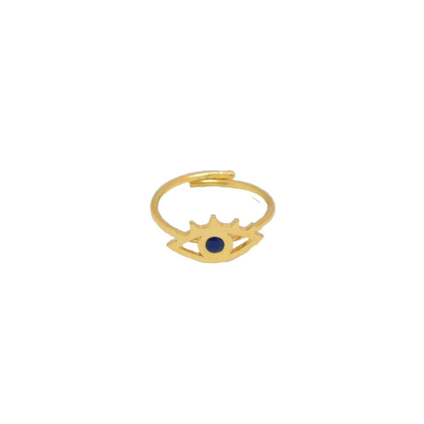 All Eyes On You ring II gold plated