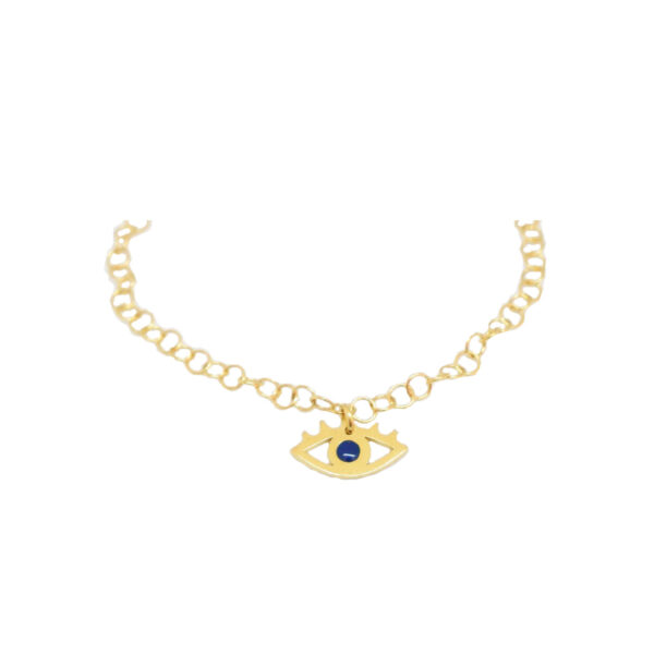 """""""All Eyes on You"""" bracelet II gold plated"""