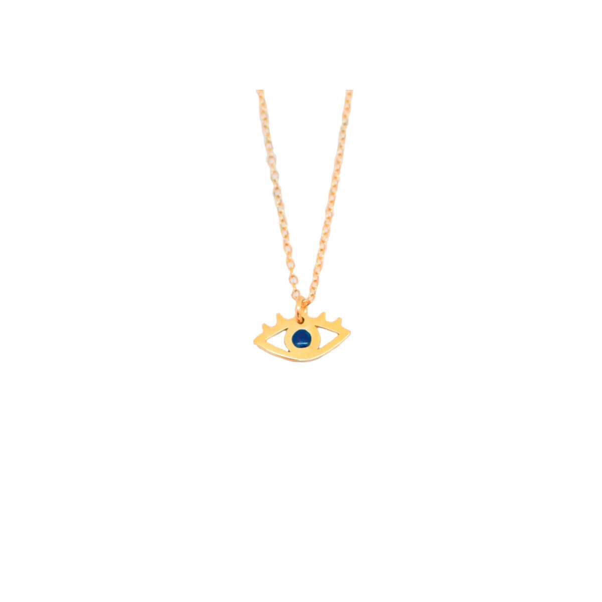 All Eyes on You II gold plated necklace