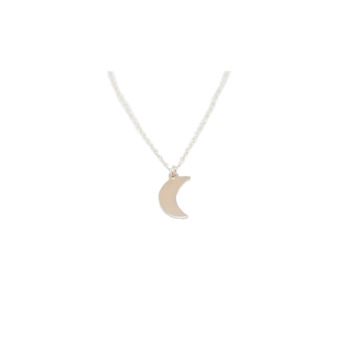 La Luna II silver necklace