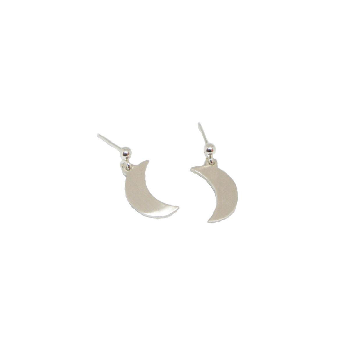 """""""La Luna"""" earrings II silver"""