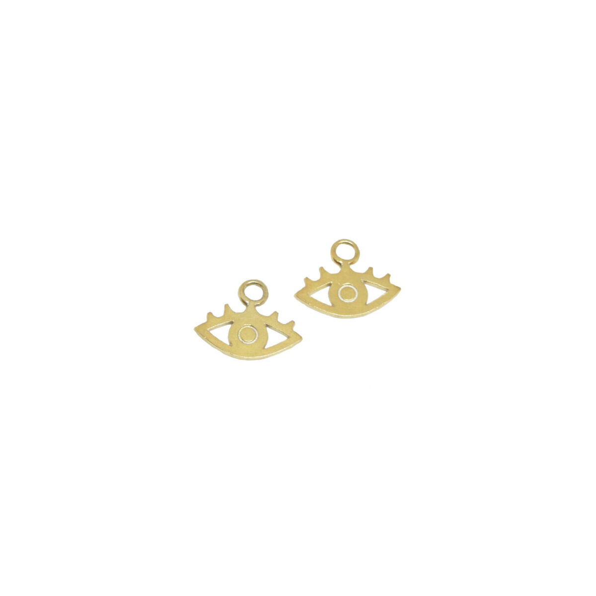 """""""All eyes on you"""" Charms II gold plated"""