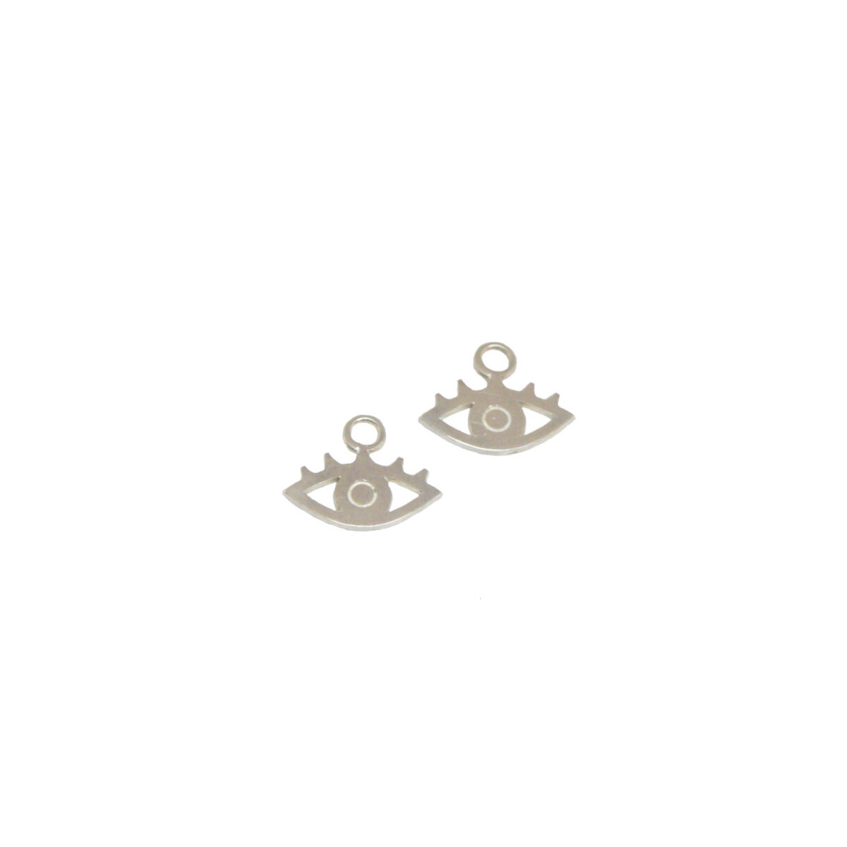 """""""All eyes on you"""" Charms II silver"""