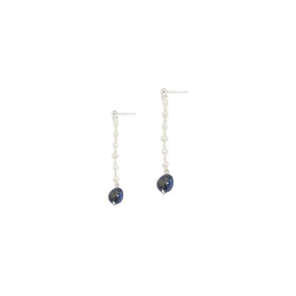 Alice earrings II gold plated