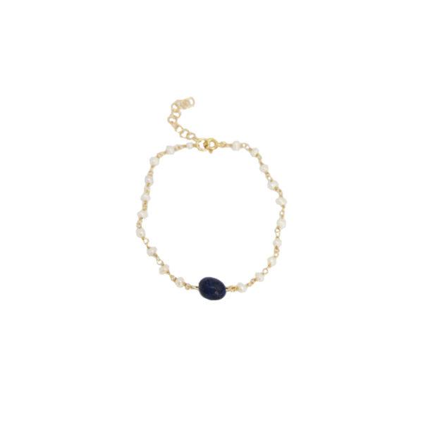 Alice bracelet II gold plated
