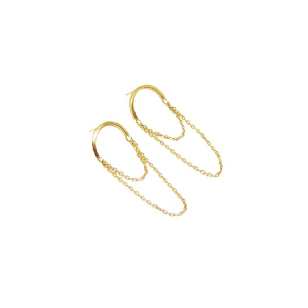 Cupola earrings II silver