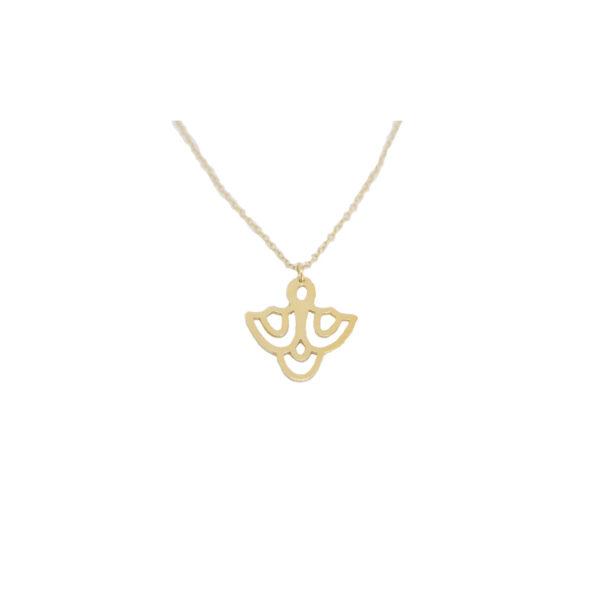 Cupola II silver necklace