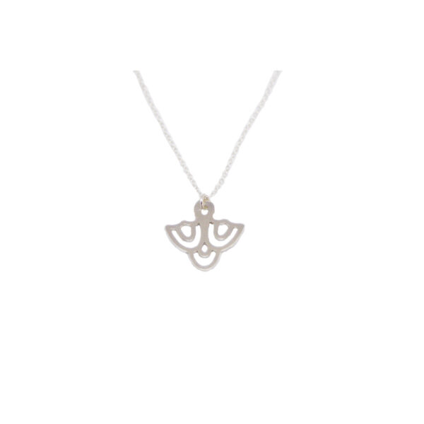 Tell me your initial II Silver necklace