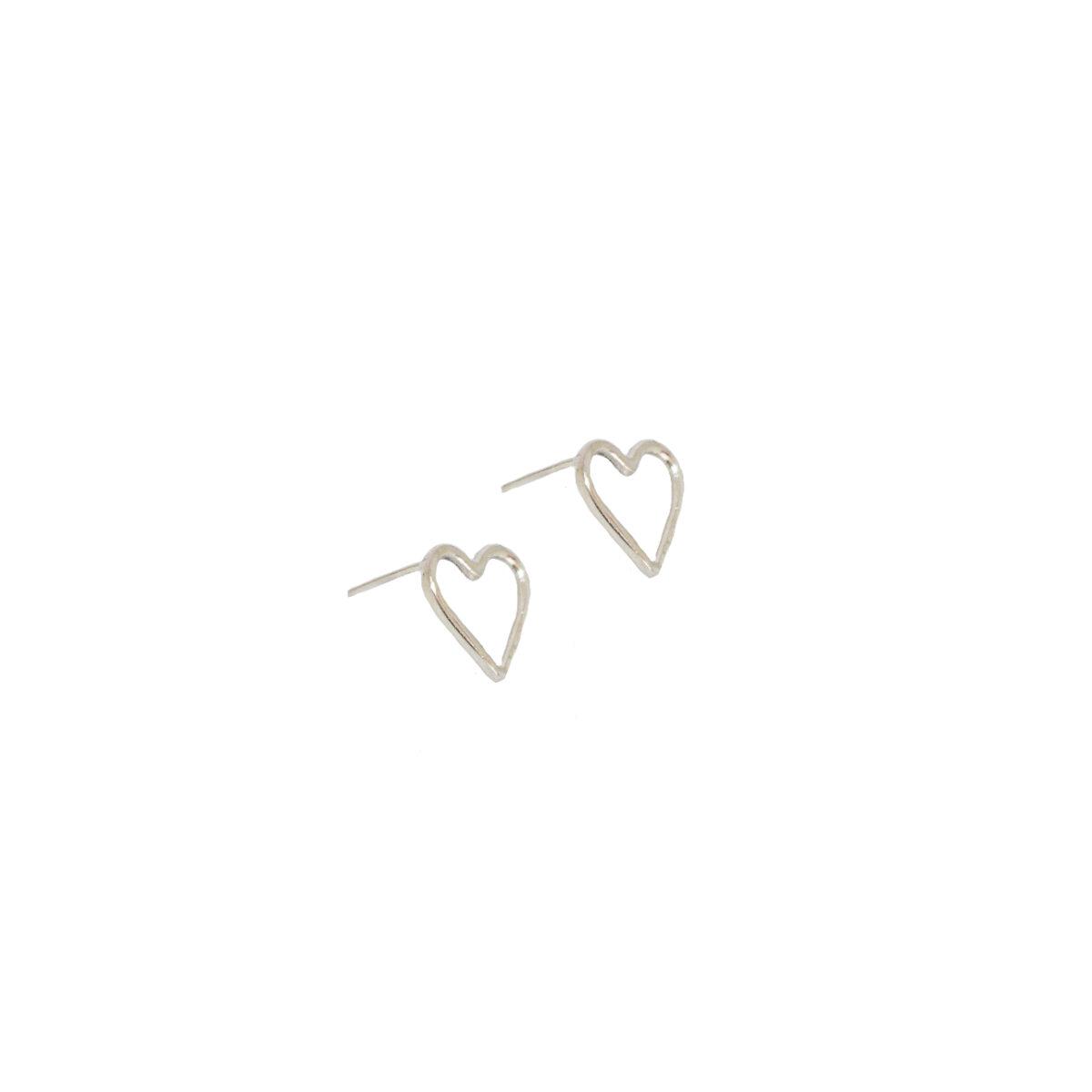 Amore earrings II silver