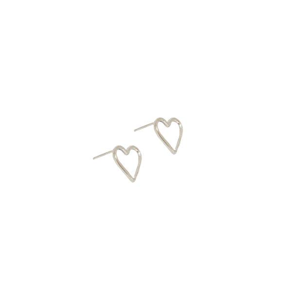 Amore earrings II gold plated