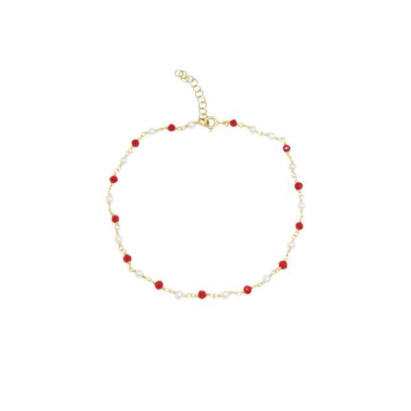 Cherry bracelet / anklet