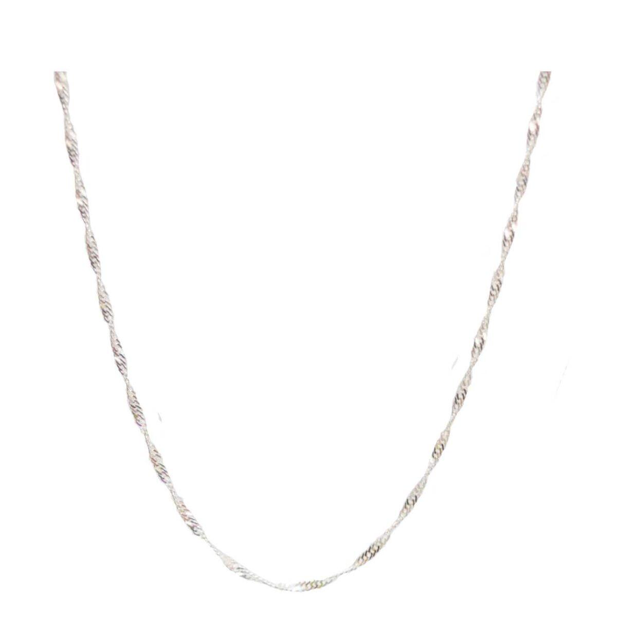 Twist me chain II silver