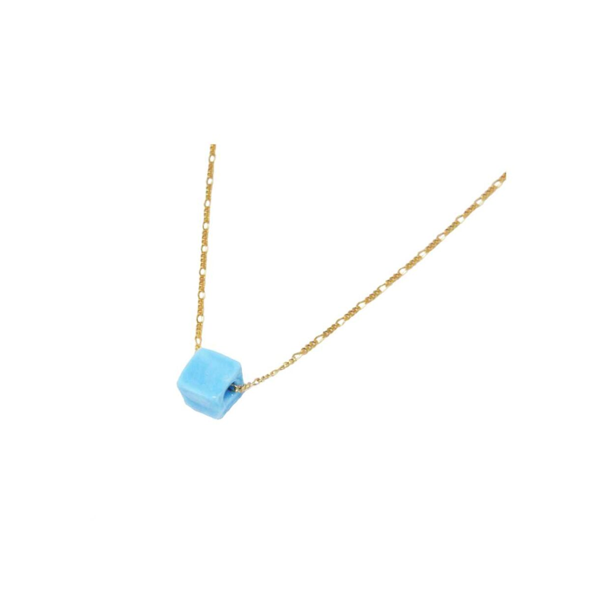 Joy necklace II gold plated