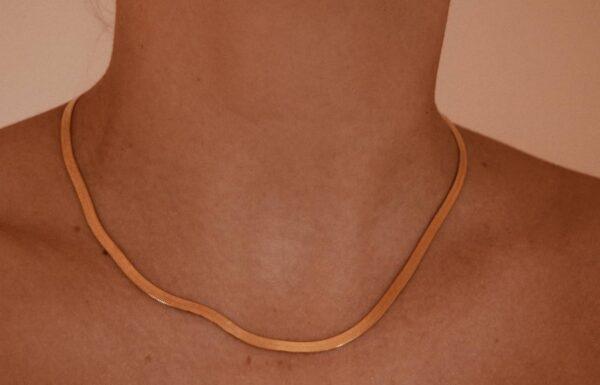 Cleopatra necklace II gold plated