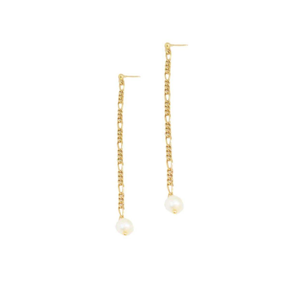 Scarlett earrings II gold plated