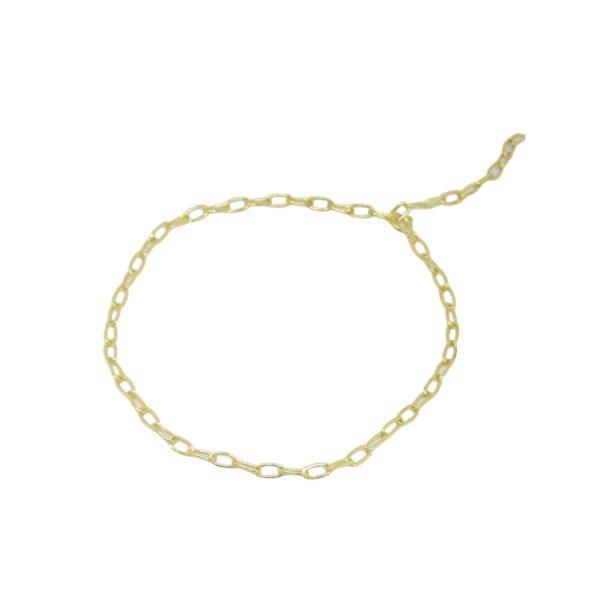 """""""Elsa"""" bracelet / anklet II gold plated"""
