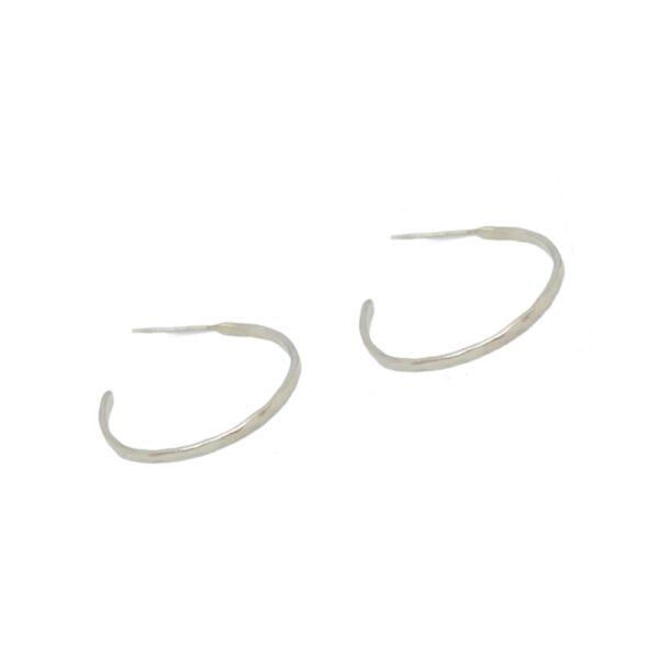 """Afi"" hoops  II silver"