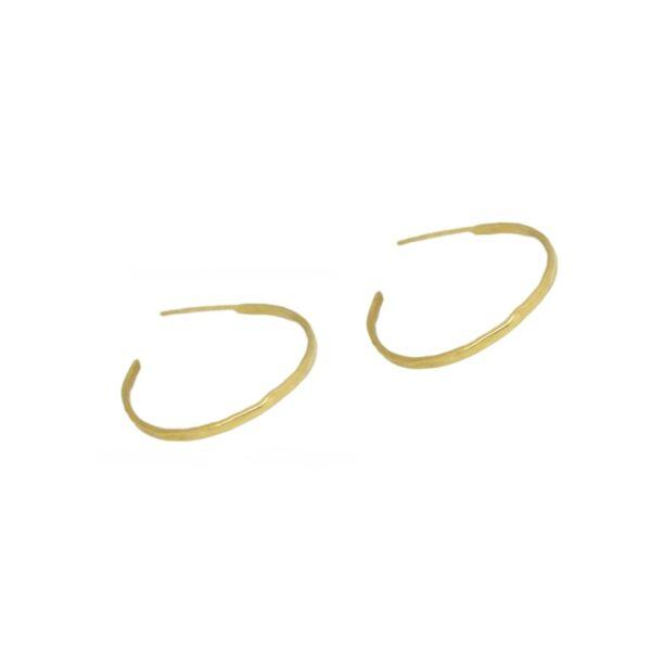 """""""Afi"""" hoops  II gold plated"""