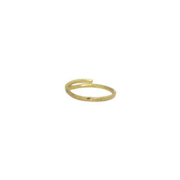 """""""Afi"""" ring  II gold plated"""