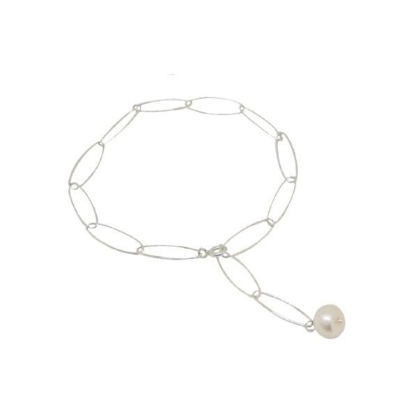 """""""Iris"""" bracelet / anklet II silver"""