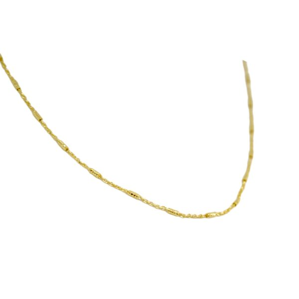 """""""Enosis"""" gold plated chain"""