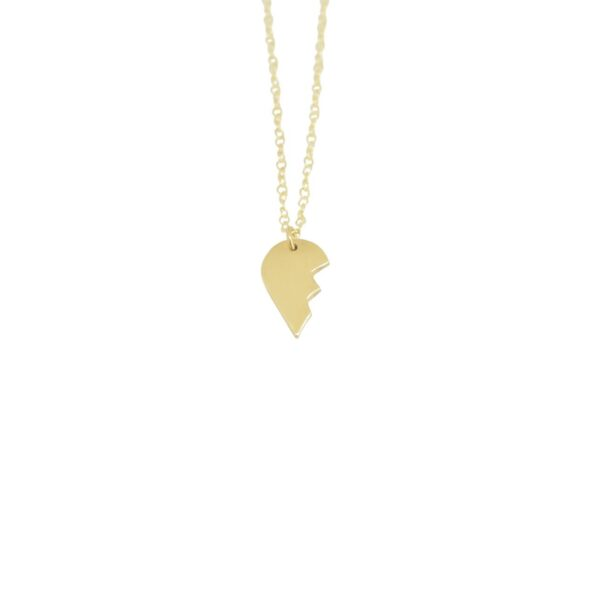 Soulmate II gold plated necklace